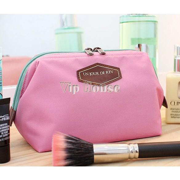 New 2014 Fashion Beautician 4 Colors cosmetic makeup bag women's organizer bag handbag travel bag storage bags #2 SV002470(China (Mainland))