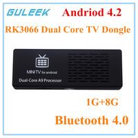 2014 Original MK808 MK808B Android 4.2 Stick Rockship RK3066 Dual Core 1GB 8GB TV Dongle Bluetooth XBMC Airplay