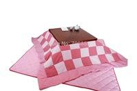 (2pcs/set) FU08  Japanese Kotatsu Futon Set Square 195*195cm Reversible futon blanket