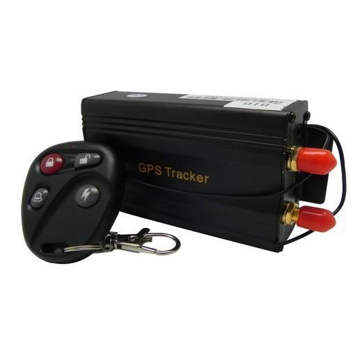 TK103B 4 Band Vehicle Car GPS Tracker 103B with Remote Control GSM Alarm SD Card Slot Anti-theft car alarm system Wholesale(China (Mainland))