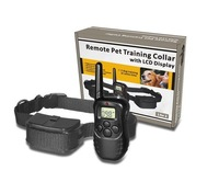 1pcs*LCD 100LV 300M Pet Dog Training E-Collar Shock Remote Control Anti Bark  Free shipping