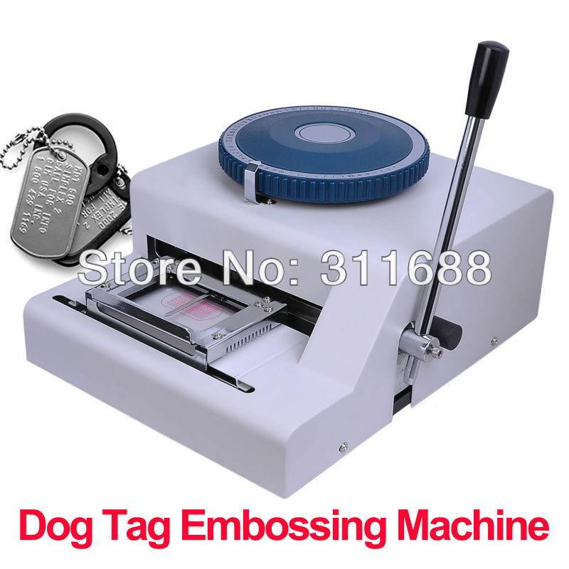 metal tagging machine
