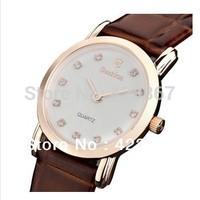 2015 Limited Real Women Watches Switzerland Brand Women Quartz Watches Sapphire Genuine Leather Waterproof 3atm Ultra Thin
