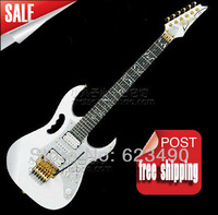 Free shipping top quality New IBZ JEM 7V white Electric Guitar DiMarzio pickup In stock