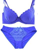 high quality Brand lace seamless Women Bra briefs Set plus Size Push up sexy bow Lingerie set women underwear set