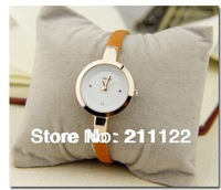 2014 brand new Casual watch ladies  Women  dress watch  rhinestone women casual quartz dress watches