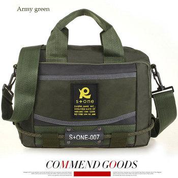 2013 fashion handbag design Unique styling oxford  qualitt assured handbag messenger bag for men