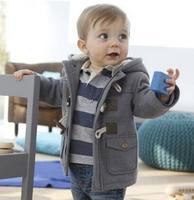 On Promotion 2014 New Children Boys Cotton Coat : Winter Boys Warm Outwear Baby Boys Fashion Thick Jacket Kids wear