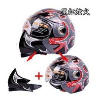 2014 New paulo versatile motorcycle helmet / half helmet full helmet free shipping