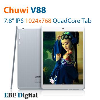 Original CHUWI V88 V88S Mini pad Quad core Tablet PC 7.9 inch RK3188 IPS 2GB 16GB 5.0MP Camera HDMI BT Freeshipping SG Post