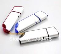 Genuine Memory Flash USB Drive 1GB 2GB 4GB 8GB 16GB Thumb Stick Metal Pendrive 3 Colors for choices