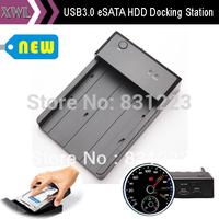 "2.5"" 3.5"" SATA to USB 3.0, SSD/ HDD Docking Station, Hard Drive External Enclosure Box, Tool Free"