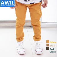 Free shipping 2014 New arrival kids pants pure Cotton CASUAL Pants boys pants autumn trousers children's pencil pants  Retail