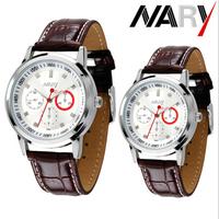 6064# Business Men Watches Quartz Watch Stainless band Wristwatch Uhr/Voir/horloge/hodinky/Gledaj/Assista/Klocka/Guarda