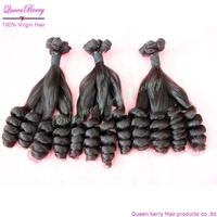 Queen berry  8a grade 1 bundle  super new arrival bella dream virgin  ocean tropic modern unprocessed handmade hair  extension