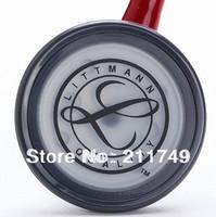 stethoscope Free shipping Single sided Littmann  Select Stethoscope Professional, medical Stethoscope Burgundy Tube, 2293