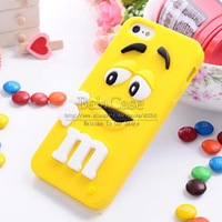 New Arrival 3D Cartoon Cute Case For Apple iPhone 4 4S Soft Silicon Skin Back Cover Shell Protector