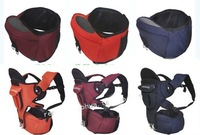 Authenticity guaranteed multi-function ventilation baby Hipseat Carrier / Hip Seat Belts straps 3 colors