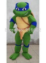 Teenage Mutant Ninja Turtle traje de la mascota adultos traje del car&aacu