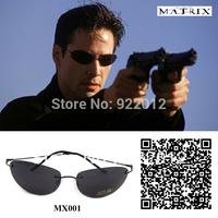 MX001 Matirx Neo Style Sunglasses Oval sunglasses Rimless frame sunglasses Movie sunglasses with Pouch sunglasses Neo