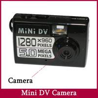 Smallest HD Mini Camera Camcorder Video Audio Voice Recorder DV Web Cam 1280*960 NO TF Card Free Shipping JVE-3319