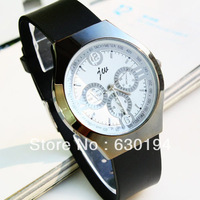 #CW0214 High Quality wristwatches Fashion& casual  Stainless Steel mens watch plastic men watches analog