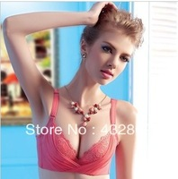 New 2013 Lace Sexy Bra,And Deep V A Push Up Bra,Prevent Sagging,Thin And Comfortable Women's Underwear,Free Shipping