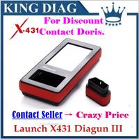 CRP129/Creader VIII As Gift!!100% Original Launch X431 Diagun III Best Performance DIAGUN III Update  Launch Official Website