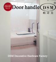 Durable Glass Door Handle DSM PA-125-25*300*500mm Polish For Shower Room