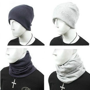 2014 New Korean The Men's Wool Caps Winter Autumn Fashion Hats Solid Color Knitted Crochet Beanies For Men Free shipping(China (Mainland))