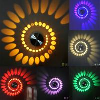 New LED Modern Light  Aluminum Wall Lamp 3W Best For Aisle Bedroom Corridor Porch , Background Light Luminous Efficiency Lamps