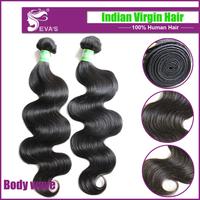 Evas Hair Products Indian Body Wave,Evas Hair Company 6A Indian Virgin Hair,3.5 oz/Bundle Virgin Indian Remy Hair Extension
