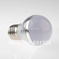 RGB LED Bulb 3w E27/E26 RGB LED 16Colors 85-265v HK Post Free shipping