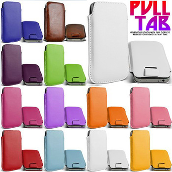 in stock ! CASE FOR iphone 4 4S 3 3GS fit for htc g12 g13 g15 g16 PU leather cases for nokia n9 13 color available Free shipping