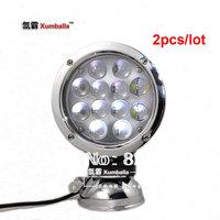 "2pcs 7"" 60W cree LED light Cree offroad light LED driving light spot / flood beam 4x4 cross country Car Truck Off Road Fog lamp"