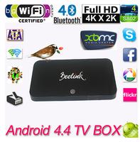 Beelink R89 Android 4.4 TV Box RK3288 Quad Core Smart TV Box 2GB 16GB Mali-T764 Dual Wifi XBMC TV Receiver Airplay Miracast DLNA
