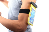 NEW Waterproof PVC Diving Bag Case Underwater Pouch For iPhone 4 4S 5 5S 5C For Samsung galaxy S3 S4 With Arm band