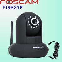 Foscam black P2P FI9821P 1Megapixel  HD 720P HD Pan/Tilt Wired/Wireless IP Camera H.264  CCTV H.264 IR-Cut Free DDNS