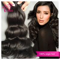 "6A Brazilian virgin hair body wave 8""-30"" Brazilian body wave Ali POP hair Natural black hair Human hair weave Free shipping"