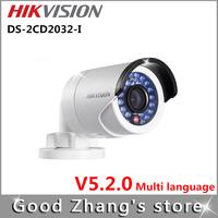 OFF Original Gun Hikvision waterproof IR IP Camera DS-2CD2032-I IR 20m  v5.0