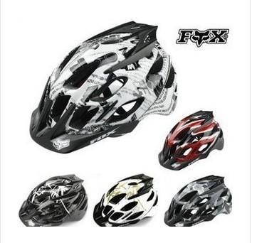 Free shipping Fox Flux Helmet climbing bike / BMX / Mountain Bike integrally molded helmet -(China (Mainland))
