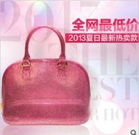 2013 jelly bag shoulder bag handbag designer tote bag  women handbag  tote leather fashion bag