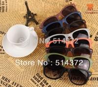 6919 high quality fashion natural wood sunglasses designer pure handmade bamboo wooden sunglasses wood bamboo leg frame