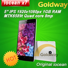 "Original Iocean x7 elite 2GB RAM 32GB ROM MTK6589t Quad core Mobile phone 5"" FHD 1920x1080p Android 4.2 13MP camera GPS Dual SIM(Hong Kong)"