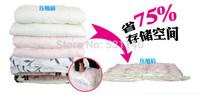6PS/Lot  Vacuum Compressed Bags Vacuum Storage Bags/Vacuum Space Saving compressed bags S /M /L /XL /XXL 5 Sizes