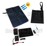 Free Shipping! Solar Car Charger Foldable+18Watt Monocrystalline Solar Panel+Battery Charger 12V+Solar Phone/Laptop Charger