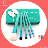 5 Pieces Lovely Bow Makeup Brush Boxed Set Zoreya Cosmetics Loose Powder Eye Shadow Make-up Gift Kits 4 Colors