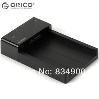 Original ORICO 6518US3-BK High speed USB 3.0 2.5'' 3.5 inch SATA HDD external storage SSD enclosure for laptop drop shipping