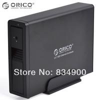 Original ORICO 7618SUS3-BK full Aluminum super speed USB 3.0 eSATA to 3.5 Inch SATA HDD Enclosure for laptop drop shipping