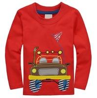 Excellent Quality Boy's Super Cool Autumn Long-sleeved Cars Tops, 6 Sizes for 1-5 yrs - JBLT341/JBLT345/JBLT347/JBLT348/JBLT352